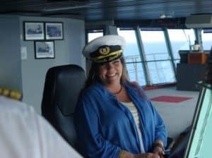 Pam Myers, pictured on Rock Legends Cruise III, February 2015 (PRNewsFoto/Landry & Kling)
