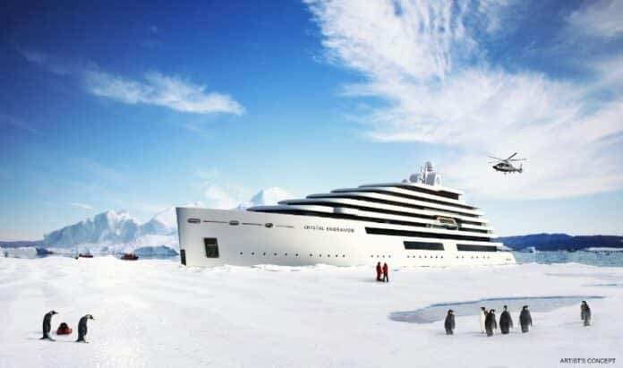 "Crystal Cruises Announces The World's Largest Megayacht ""Crystal Endeavor"" | 13"