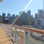 A view of New York from aboard Viking Star.