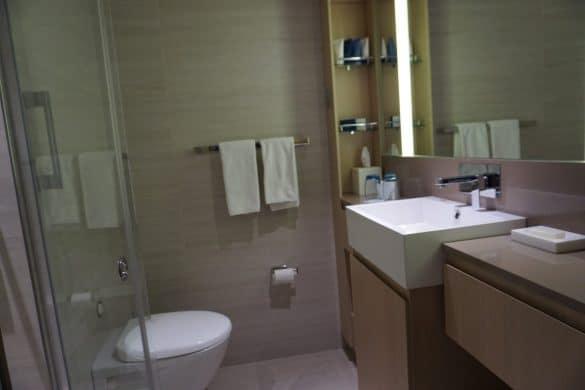 A Standard Bathroom aboard Viking Ocean Cruises