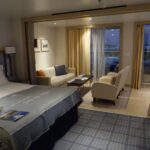 The Penthouse Junior Suite. Size including veranda: 405 sq. ft.