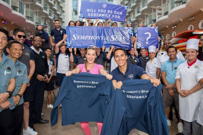 Royal Caribbean Names First-Ever Godfamily of Symphony of the Seas | 18