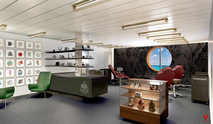 NEW- Virgin Voyages Squid Ink