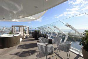 Iconic Suite Cat IC - Balcony aboard Celebrity EDGE