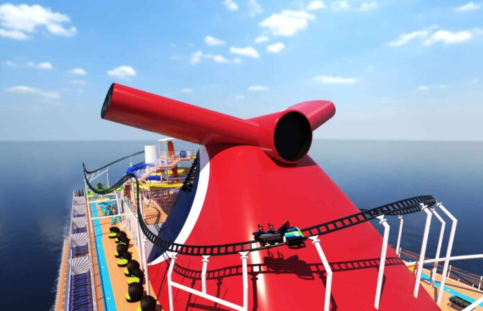 Carnival's Mardi Gras Will Feature World's First Roller Coaster At Sea