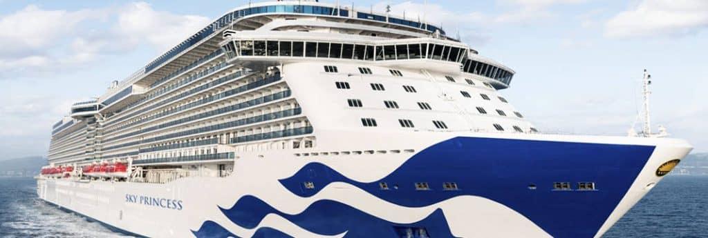 Princess Cruises Sky Princess cruise ship