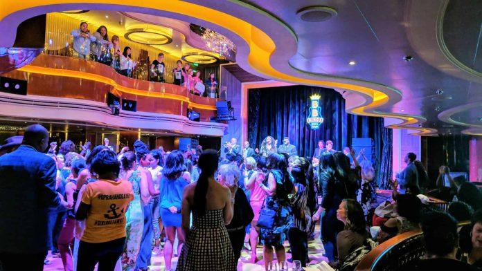 B.B. King's Blues Club on Holland America's Nieuw Statendam