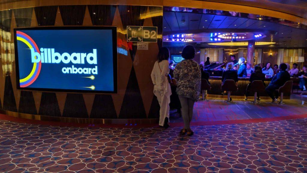 Billboard Onboard on Nieuw Statendam