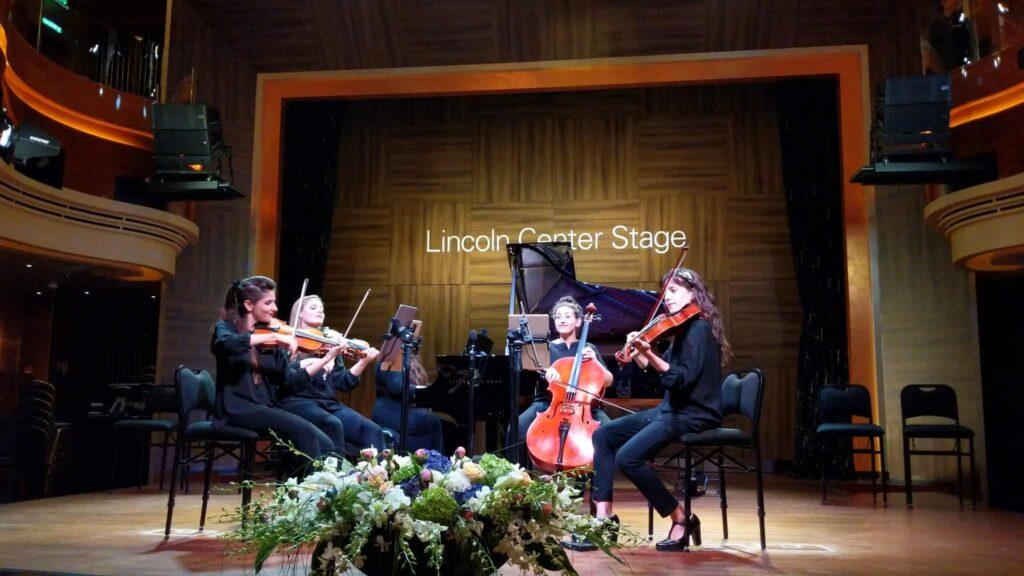 Lincoln Center Stage on Nieuw Statendam