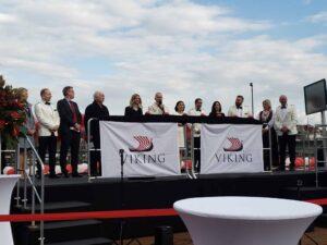 Viking Cruises, New River Ship Ceremony