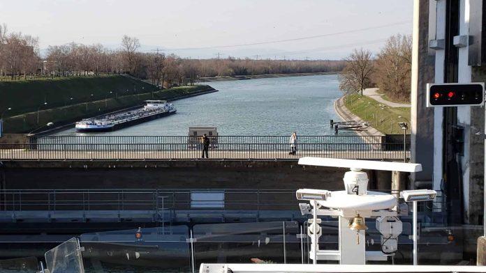 Rhine River Locks Time Lapse - Aboard Viking Cruises