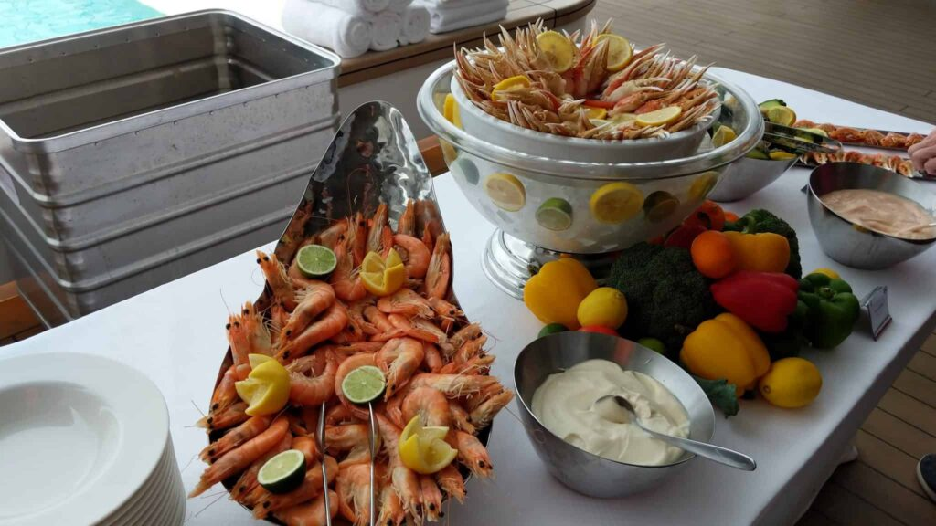 Seafood on Le Laperouse