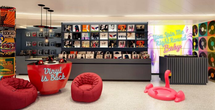 Virgin Voyages' Scarlet Lady Will Feature An Onboard Record Shop And Karaoke Lounge | 18