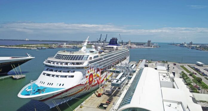 Norwegian Sun at Port Canaveral's Cruise Terminal 10 (Photo: Canaveral Port