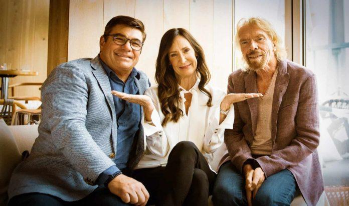 Tom McAlpin, Captain Wendy and Sir Richard Branson