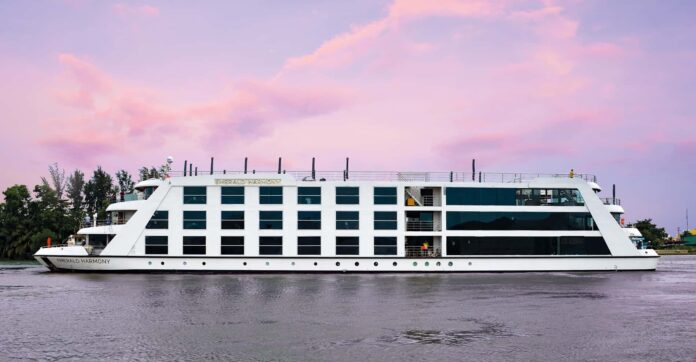 Emerald Waterways' brand new Star-Ship, Emerald Harmony,