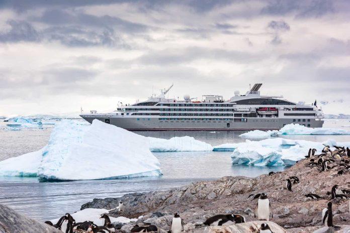 Antarctica, Le Lyrial Cruise Ship