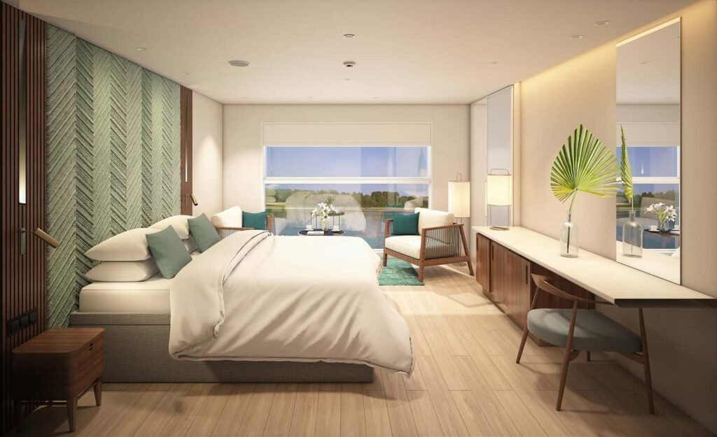 Emerald Waterways' brand new Star-Ship, Emerald Harmony