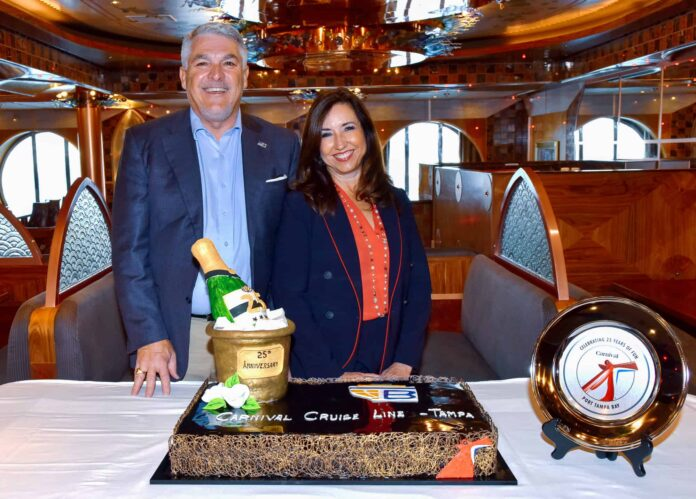 Carnival Cruise Line Celebrates 25 Years Sailing From Port Tampa Bay | 25