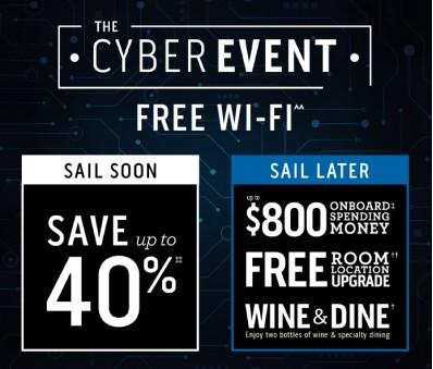 Princess Cruises Cyber Event Sale