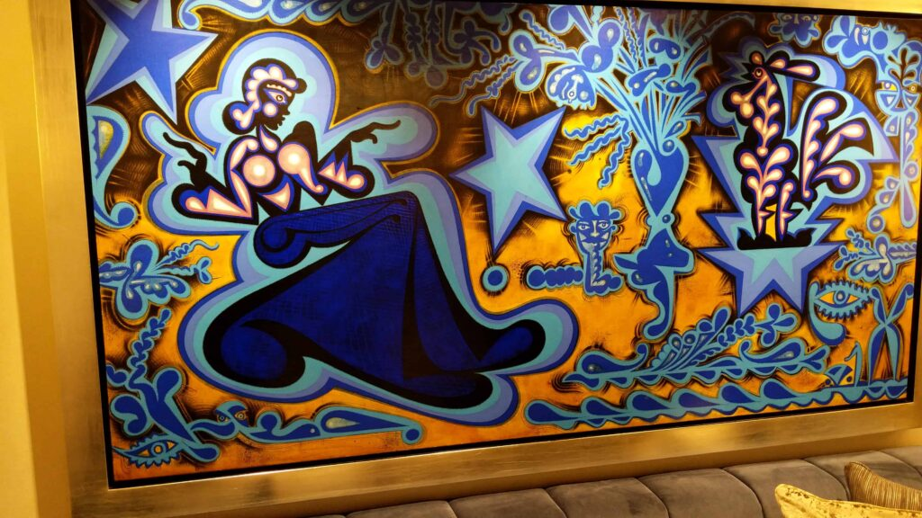 Regent Seven Seas Splendor contains $5 million worth of artwork.