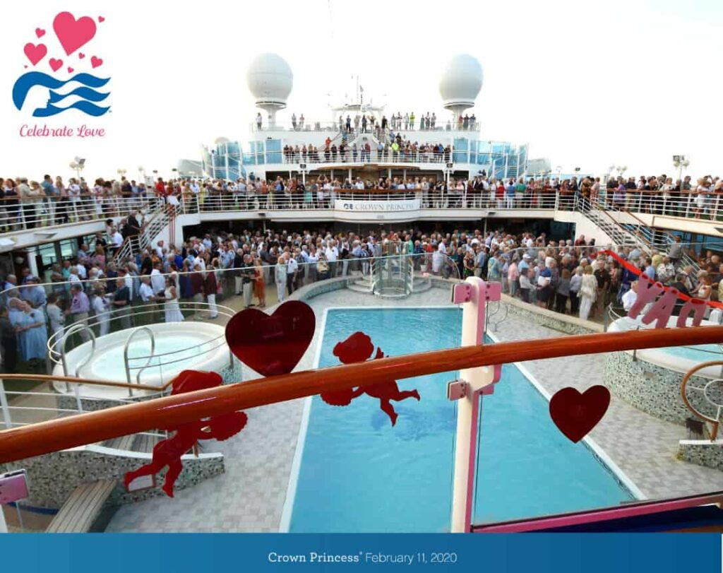 Princess Cruises Sets World Record for Largest Vow Renewal | 7