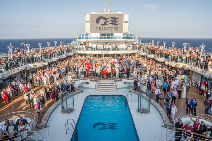 Princess Cruises Sets World Record