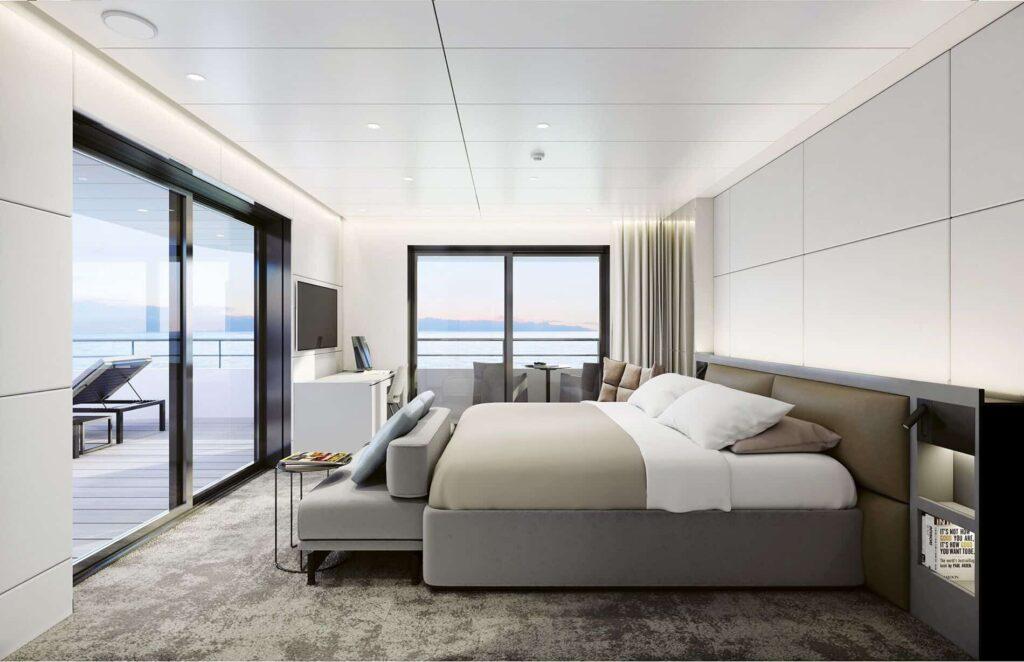 Terrace Suite aboard Emerald Azzurra