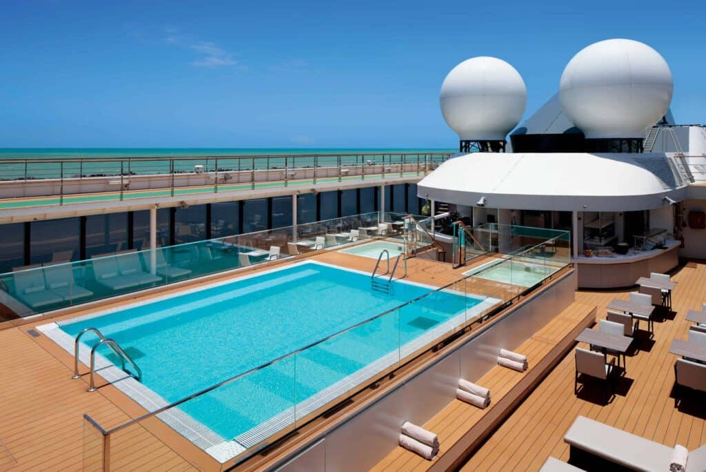 World Navigator Pool Deck