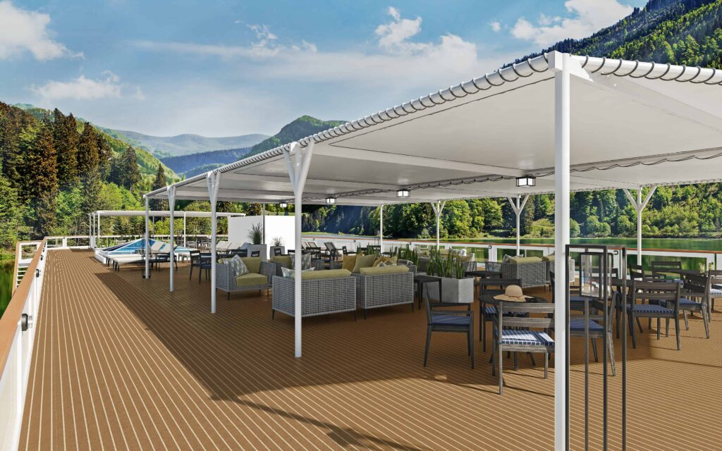 American Cruise Lines Unveils Interior Conceptsof New Modern Riverboats | 16