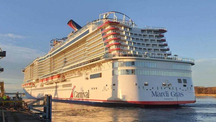 Carnival Cruise Line Takes Delivery Of Mega Cruise Ship Mardi Gras   7