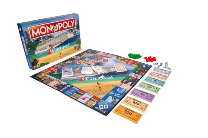 Carnival Cruise Line Launches Cruise-Themed Monopoly Game | 16