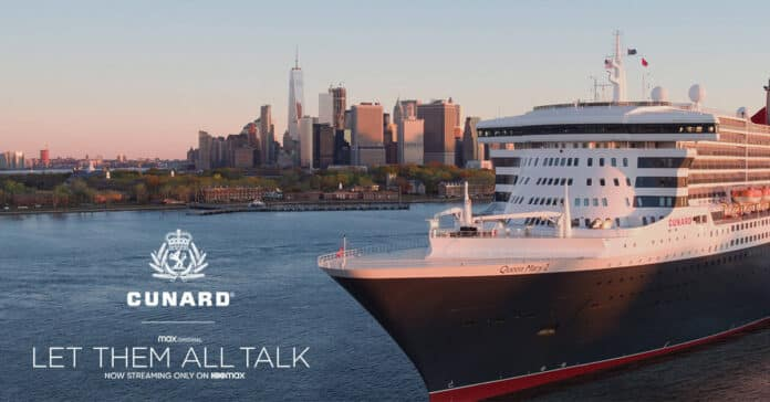 """Cunard Launches Queen Mary 2 """"Let Them All Talk"""" Sweepstakes 