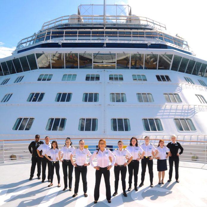 Celebrity Cruises' History-Making All-Female Bridge And Leadership Team Reunite | 13