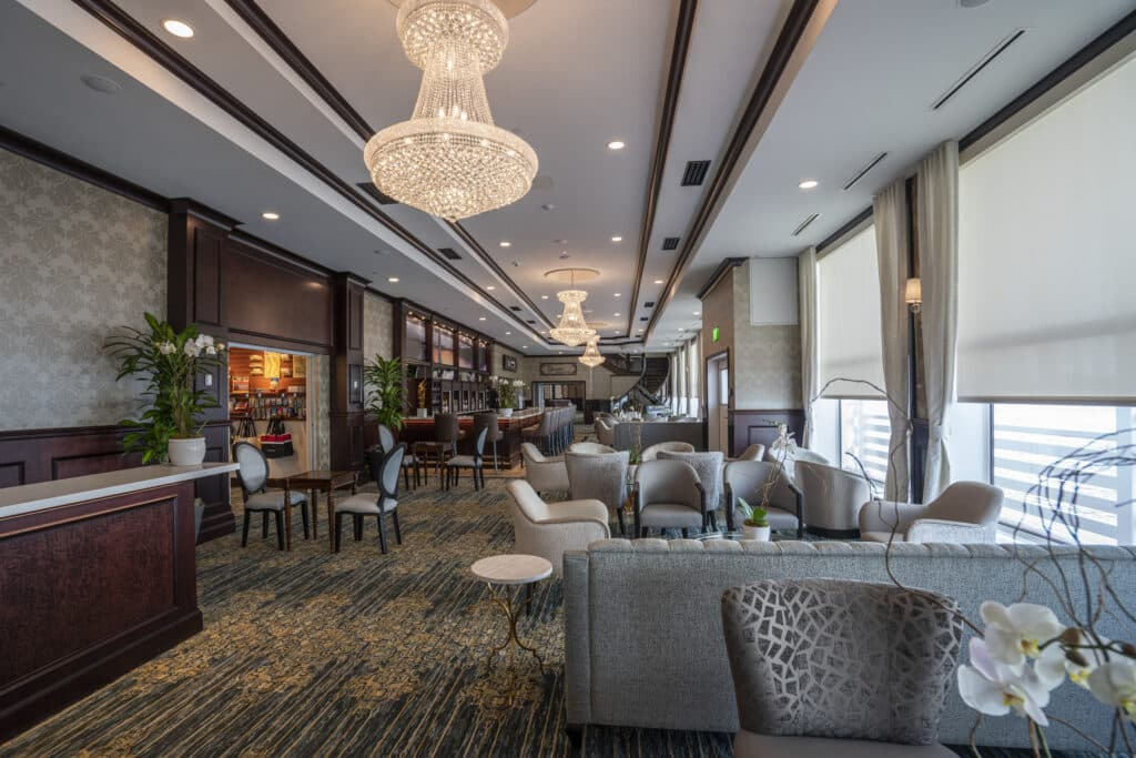The Great Lobby aboard the American Countess