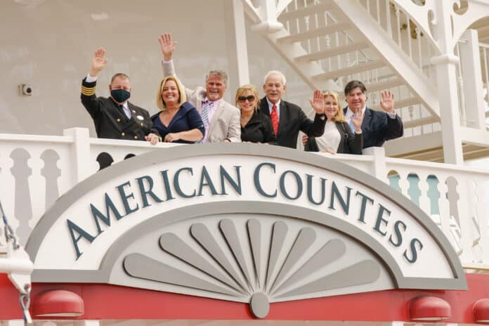 American Queen Steamboat Company Christens the American Countess   25