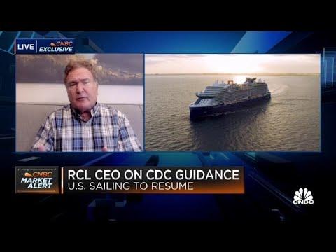 Royal Caribbean Group CEO Richard Fain Talks About Return Of US Cruises | 14