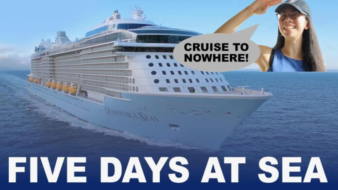 Experience A Cruise To Nowhere Aboard Quantum of the Seas