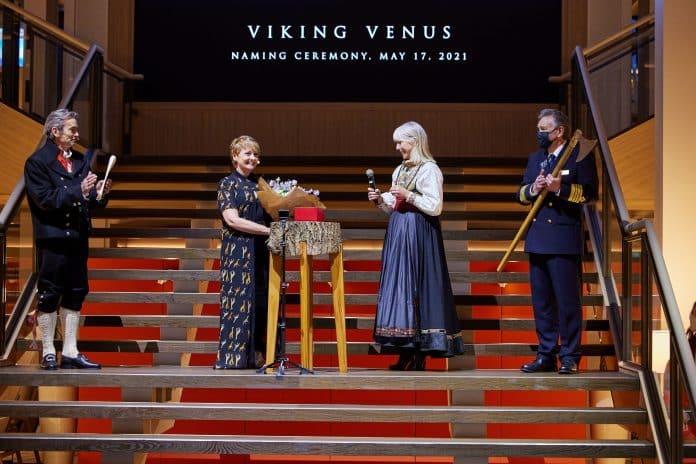 Viking Venus Naming Ceremony