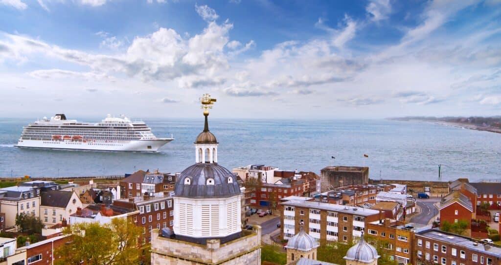 Viking Venus in Portsmouth