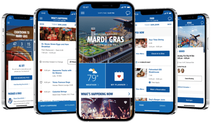 Carnival Cruise Line Expands Hubb App With Exciting Features