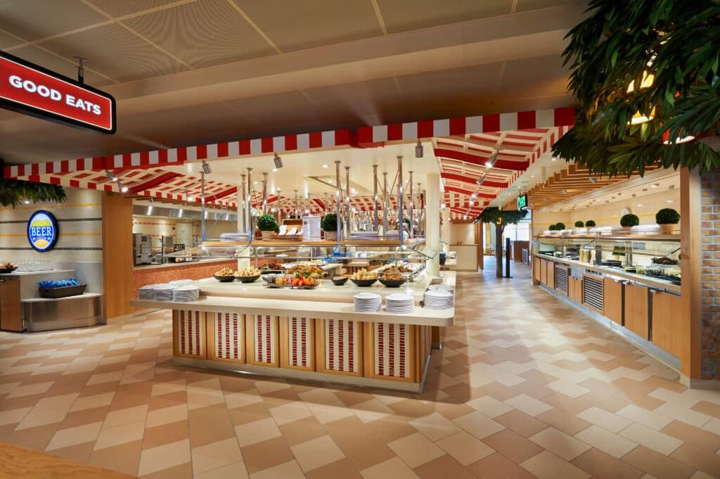 Self-Service Buffets open
