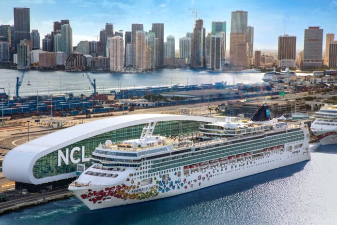 Norwegian Cruise Line Celebrates Great Cruise Comeback With First Voyage From the U.S.