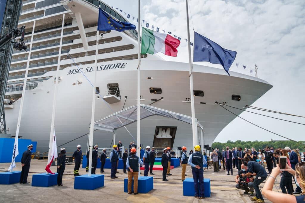 MSC Cruises Take Delivery of MSC Seashore | 28