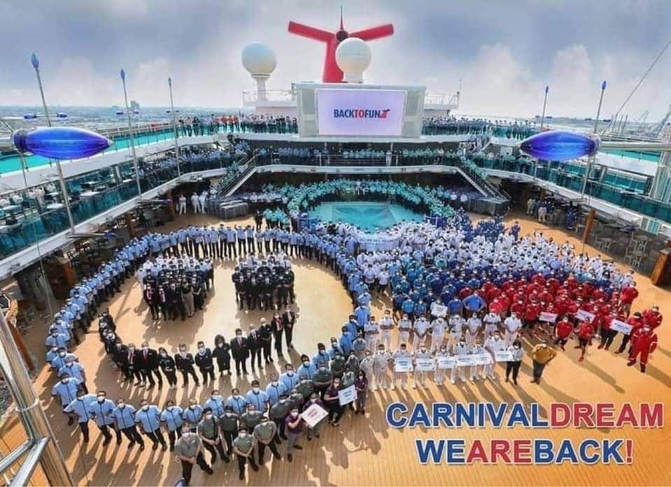 Half of Carnival Cruise Line's U.S. Fleet Back in Service | 26