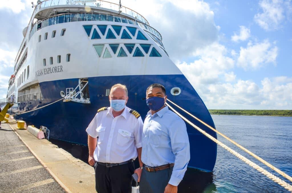 JAXPORT Welcomes Ocean Explorer For Port-Of-Call Visit   27